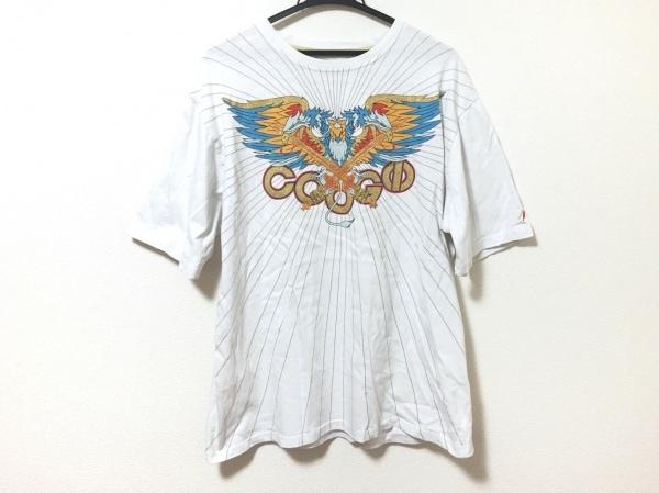 COOGI/CUGGI(クージー) 半袖Tシャツ サイズXL メンズ 白 ラメ
