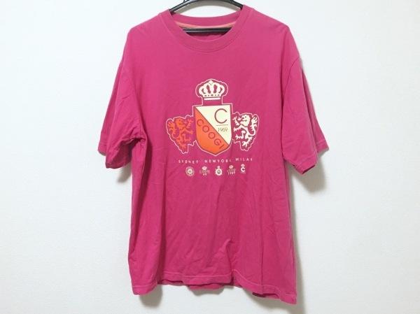COOGI/CUGGI(クージー) 半袖Tシャツ サイズXL メンズ ピンク