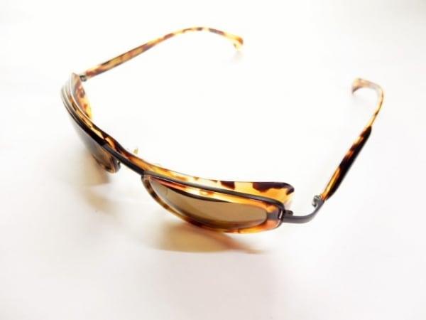 alain mikli(アラン・ミクリ) サングラス美品  5018 ブラウン×ベージュ プラスチック
