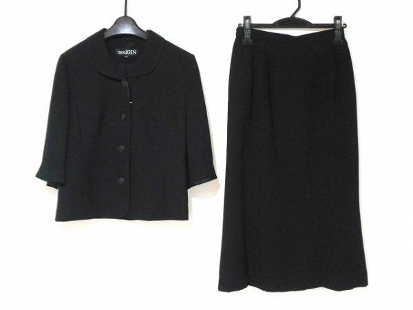 TOKYOIGIN(トウキョウイギン) スカートスーツ サイズ7AR S レディース美品  黒