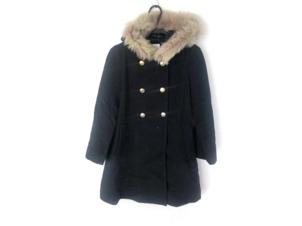 Bon mercerie(ボンメルスリー) コート サイズ38 M レディース 黒 冬物