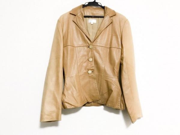 PAULEKA(ポールカ) ジャケット サイズ38 M レディース ライトブラウン レザー