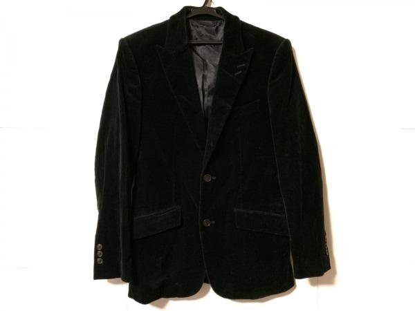 コムサコレクション ジャケット サイズS メンズ 黒 肩パッド/KENJI ITO