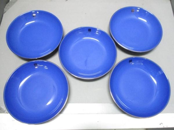 GIVENCHY(ジバンシー) プレート新品同様  ブルー プレート×4 陶器