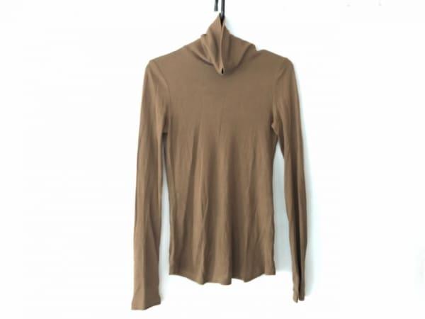 ニールバレット 長袖セーター サイズS レディース ブラウン タートルネック
