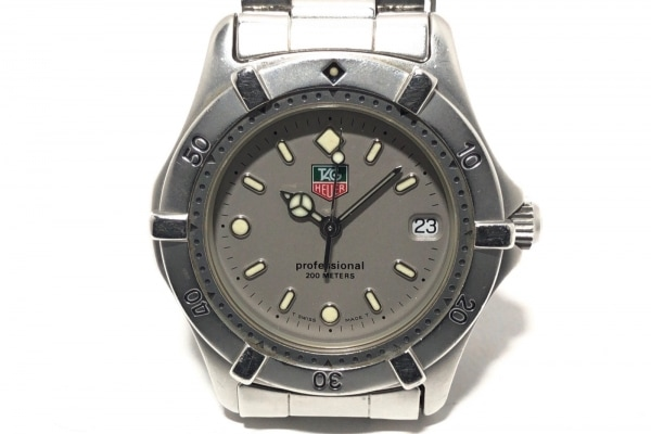 TAG Heuer(タグホイヤー) 腕時計 プロフェッショナル200 WE1211-R メンズ グレー
