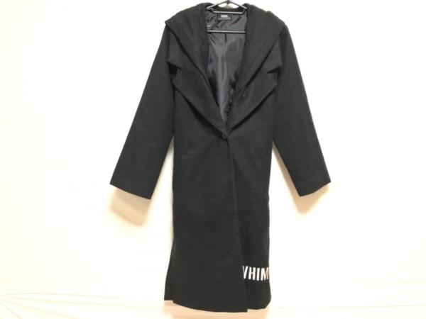 BACKS(バックス) コート サイズF レディース 黒×白 冬物