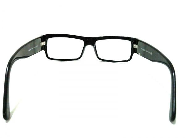 60aa6683c0a3 ... PRADA(プラダ) メガネ VPR20H クリア×黒×シルバー 度入り プラスチック×金属 ...