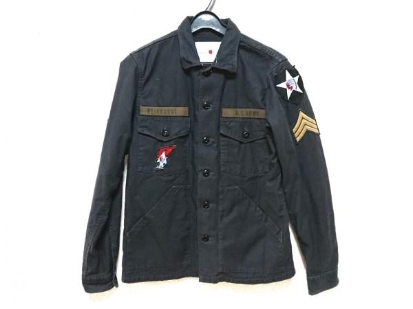 marka(マーカ) ジャケット サイズ3 L メンズ ダークグレー×マルチ
