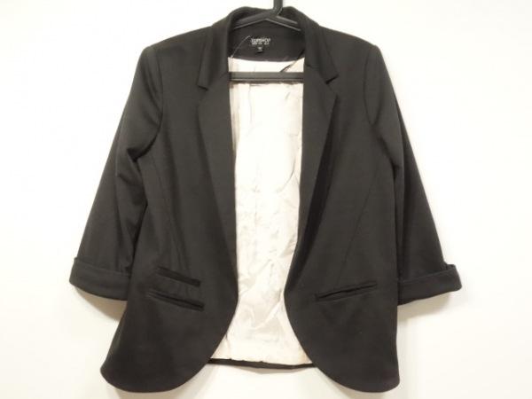 TOPSHOP(トップショップ) ジャケット サイズ38(EUR) L レディース美品  黒