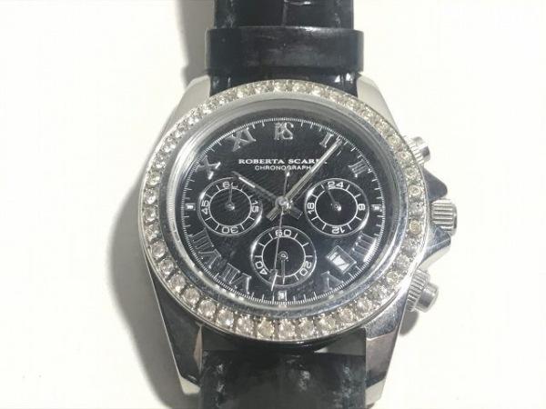 ROBERTA SCARPA(ロベルタ スカルパ) 腕時計 RS-6000 レディース 黒