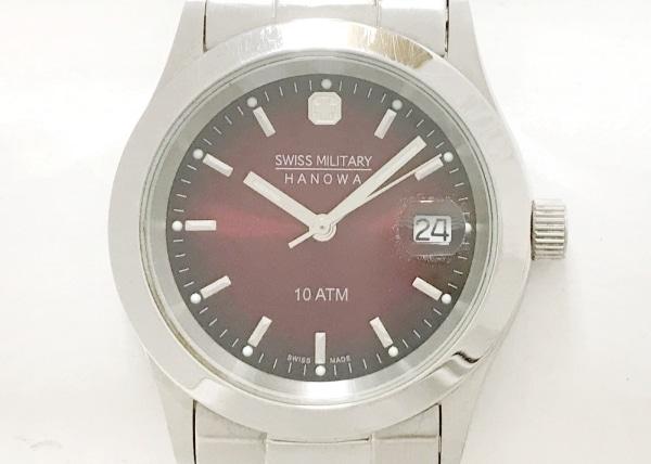 SWISS MILITARY(スイスミリタリー) 腕時計 HANOWA 6-5023 メンズ レッド