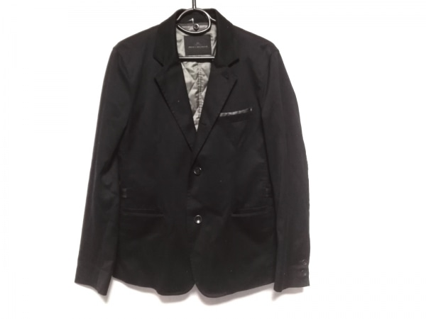 MEN'S MELROSE(メンズメルローズ) ジャケット サイズ4 XL メンズ 黒 ライナー付き