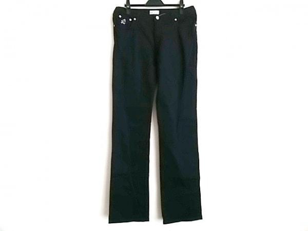 BLUMARINE(ブルマリン) パンツ サイズI  44  レディース 黒 ラインストーン