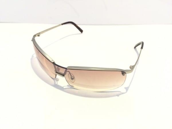 PRADA(プラダ) サングラス美品  SPR55D ブラウン×シルバー プラスチック×金属素材