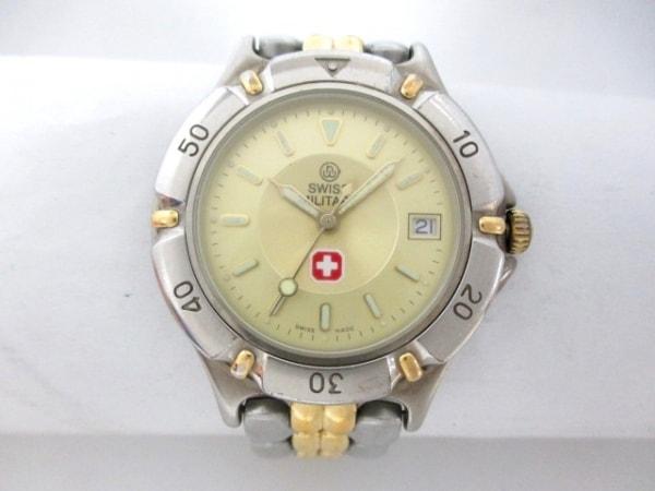 SWISS MILITARY(スイスミリタリー) 腕時計 6-510 メンズ ゴールド