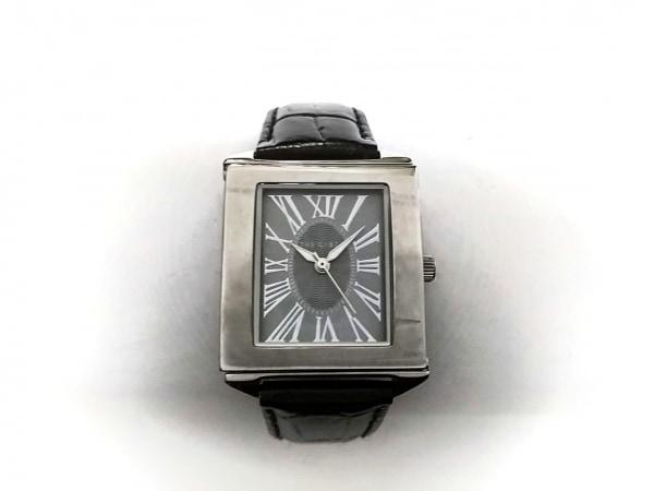 THE GINZA(ザ ギンザ) 腕時計 - レディース 革ベルト シルバー