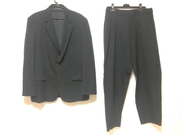 yohjiyamamoto(ヨウジヤマモト) シングルスーツ サイズ3 L メンズ 黒