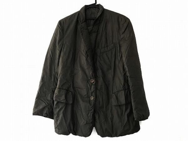 ワイズ ダウンジャケット サイズ3 L メンズ ダークグリーン ASPES!/冬物 ナイロン
