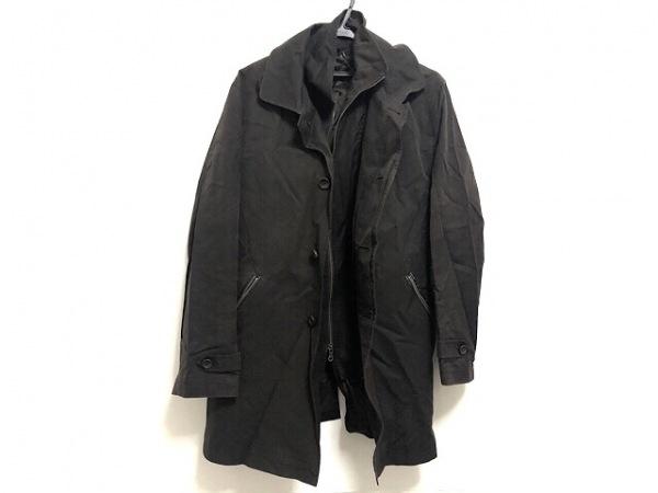NICOLE(ニコル) コート サイズ50 メンズ ダークブラウン 冬物