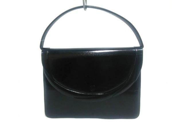 CHARLESJOURDAN(シャルルジョルダン) ハンドバッグ 黒 レザー