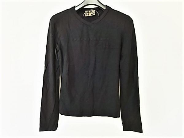 FENDI jeans(フェンディ) 長袖カットソー サイズ26 S レディース美品  黒