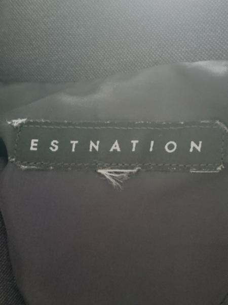 エストネーション レディースパンツスーツ サイズ40 M レディース ダークグレー