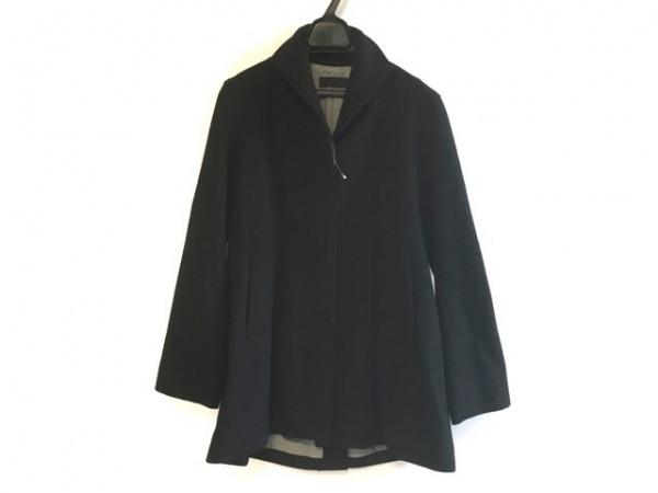 GIGLI(ジリ) コート サイズ38 M レディース 黒 冬物