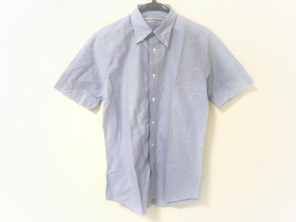 インディビジュアライズドシャツ 半袖シャツ メンズ ライトブルー