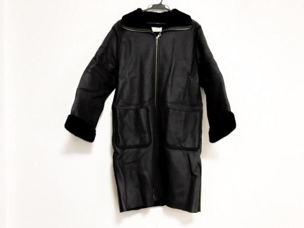 THE GINZA(ザ ギンザ) コート レディース美品  黒 冬物