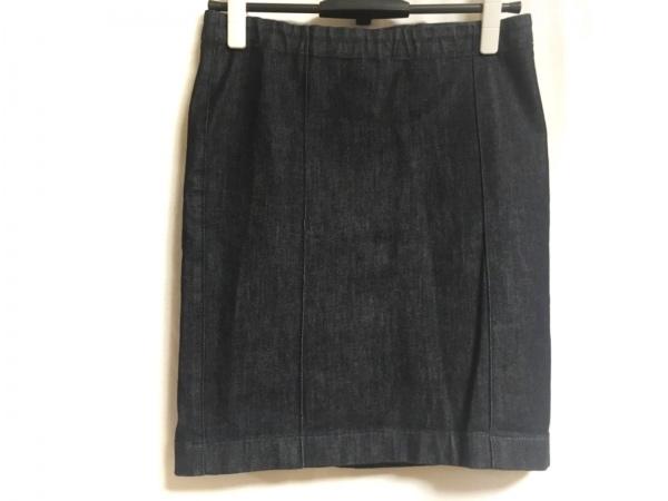 THE ROW(ザロウ) ミニスカート サイズXS レディース美品  ダークネイビー デニム