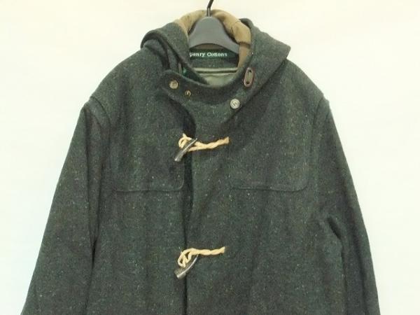 Henry Cotton's(ヘンリーコットンズ) ダッフルコート サイズ54 メンズ ダークグリーン
