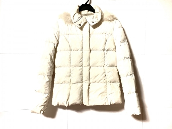 chereaux(シェロー) ダウンジャケット サイズ38 M レディース アイボリー 冬物
