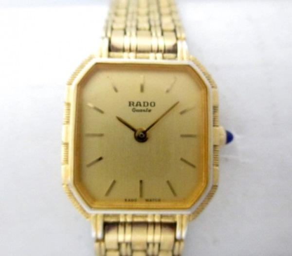 RADO(ラドー) 腕時計 179.9551.2 レディース ゴールド