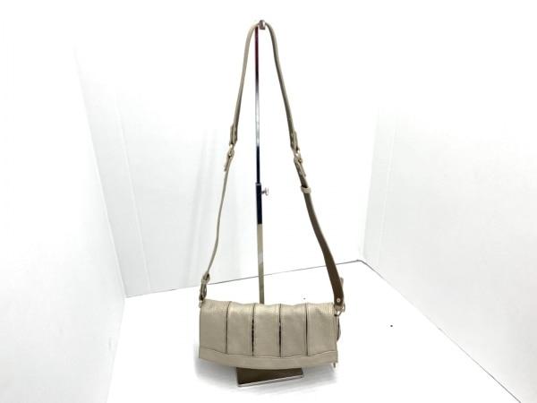 ガリャルダガランテ ハンドバッグ シャンパンゴールド ビジュー 合皮