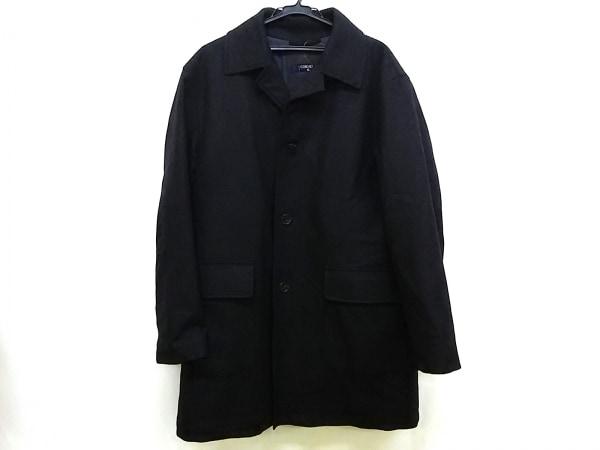 CORNELIANI(コルネリアーニ) コート サイズ50 メンズ ダークグレー 冬物/ネーム刺繍