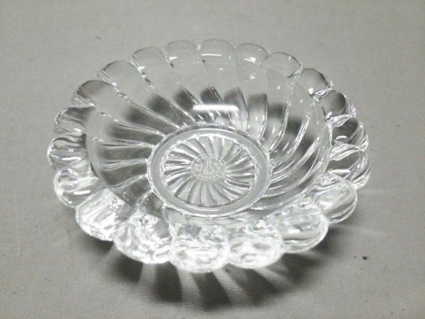 Baccarat(バカラ) 小物新品同様  クリア 灰皿 クリスタルガラス