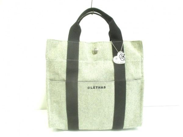 CLATHAS(クレイサス) リュックサック 白×黒 2WAY キャンバス