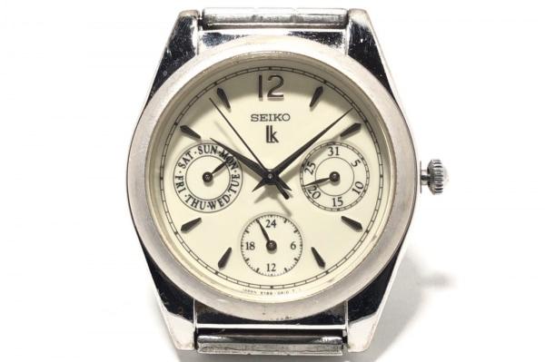 SEIKO(セイコー) 腕時計 ルキア 5Y89-OA10 レディース アイボリー
