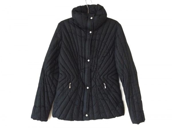 CBY(シービーワイ) ダウンジャケット サイズ40 M レディース 黒 冬物/ダブルジップ