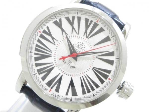 GIO MONACO(ジオ モナコ) 腕時計 ワンオーワン 101TH メンズ 白