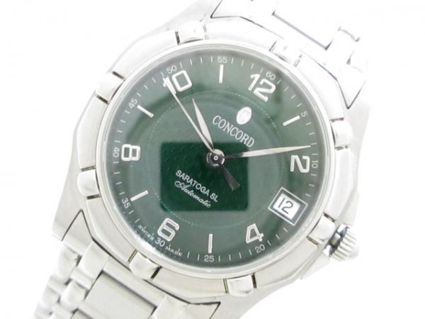 CONCORD(コンコルド) 腕時計 サラトガSL 14.A9.230 メンズ ダークグリーン