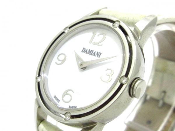 DAMIANI(ダミアーニ) 腕時計 D・SIDE DS006ACAJ レディース 白
