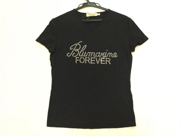 BLUMARINE(ブルマリン) 半袖カットソー サイズI 40D 34 レディース 黒