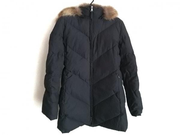 INED(イネド) ダウンコート サイズ11 M レディース 黒 冬物