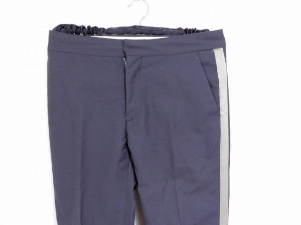 SCYE(サイ) パンツ サイズ38 M レディース ダークグレー×ライトグレー
