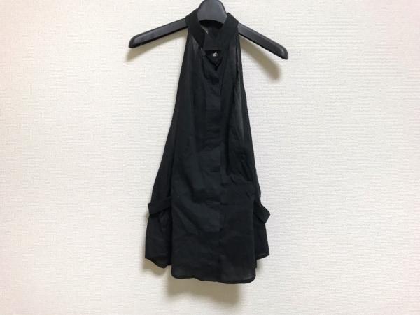 ヴェロニク・ブランキーノ シャツブラウス サイズ38 M レディース美品  黒