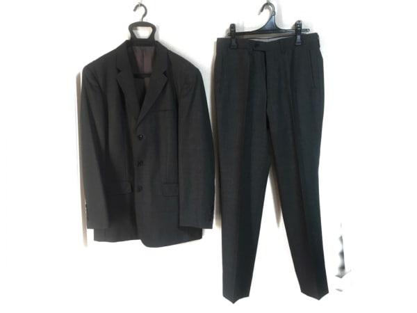 JUN MEN(ジュンメン) シングルスーツ サイズM メンズ ダークグレー