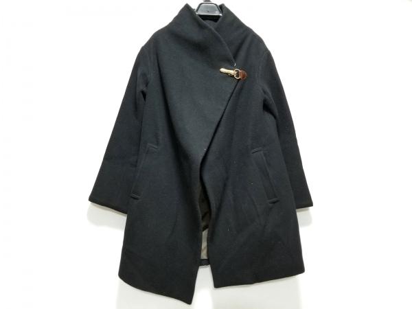 GOUT COMMUN(グーコミューン) コート サイズ38 M レディース 黒 冬物