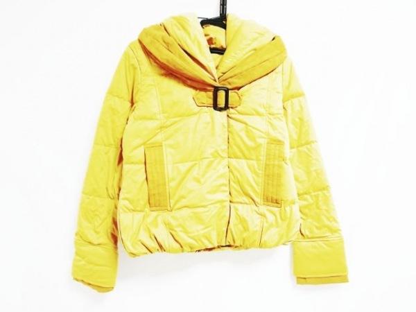 粧う YOSOOU(ヨソオウ) ダウンジャケット サイズ2 M レディース美品  イエロー 冬物